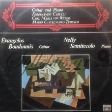Μπουντούνης Βαγγέλης / Semitecolo Nelly - Guitar And Piano