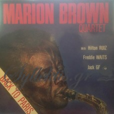 Marion Brown Quartet ‎– Back To Paris