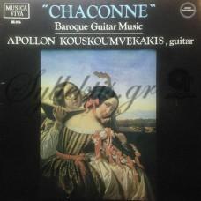 Κουσκουμβεκάκης Απόλλων - Chaconne